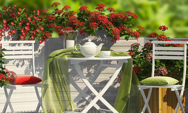 Como limpar os móveis de jardim