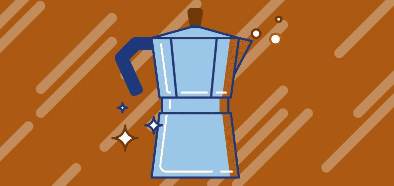 macchie di caffè