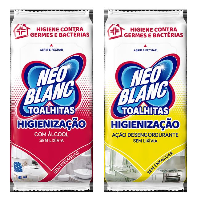 Toalhitas Higienização